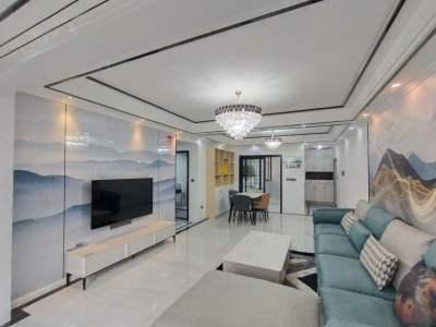 宝龙广场对面三室电梯精装修家具家电全新 新式装修适合婚房