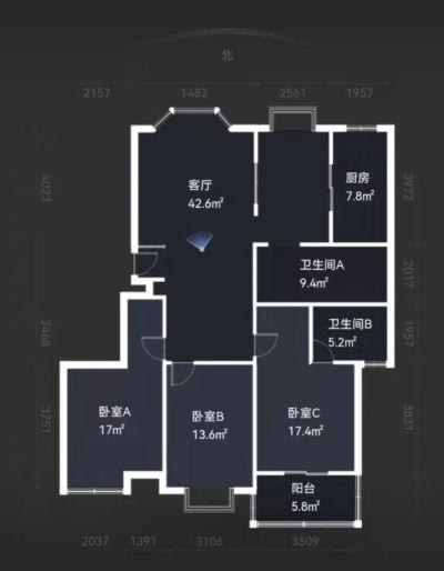 江南御花园3室两厅,真心买的联系