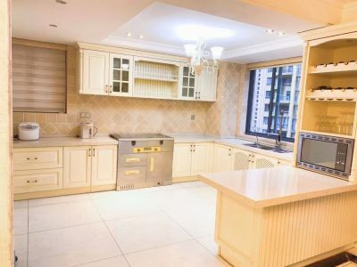香格里拉嘉园 精致装修 高档家具 中心绿轴 192平 诚心出售